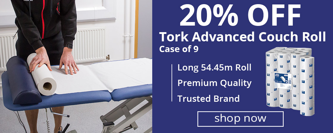 20% Off Tork Couch Roll Case of 9