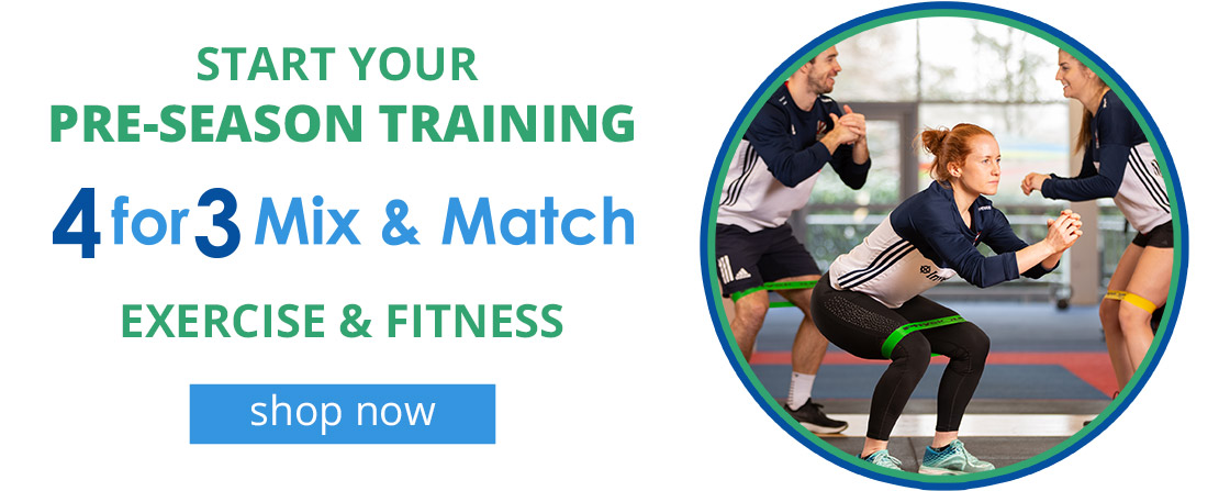 Start Your Pre Season Training | 4 For 3 Mix & Match
