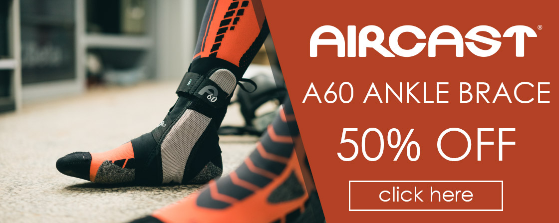 50% OFF Aircast A60 Ankle Support