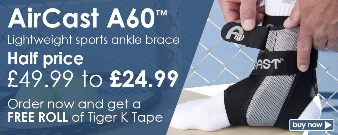 Free Tiger K Tape with Half Price A60 Ankle Brace
