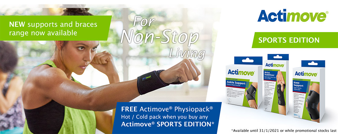 FREE Physiopack® with Actimove® Sports Edition