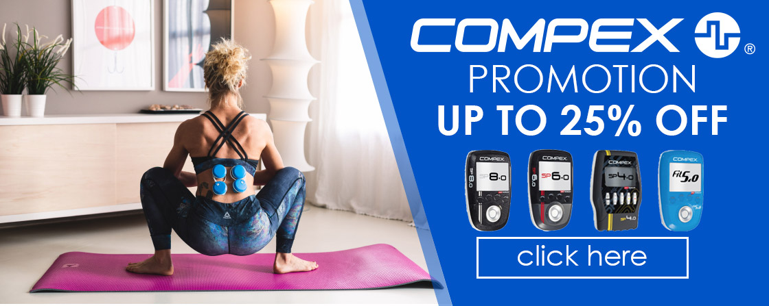 Compex Promotion - up to 25% OFF