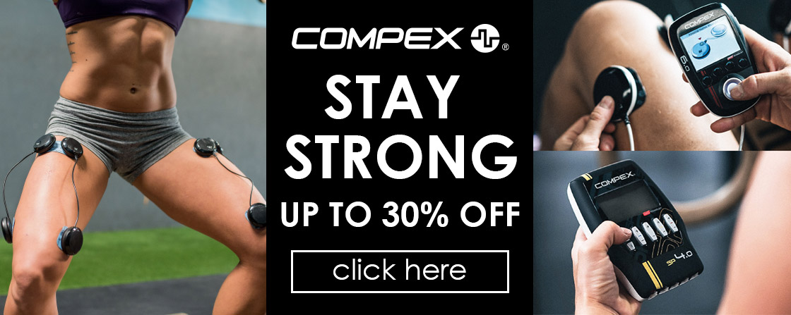 Compex Stay Strong Promotion - up to 30% Off