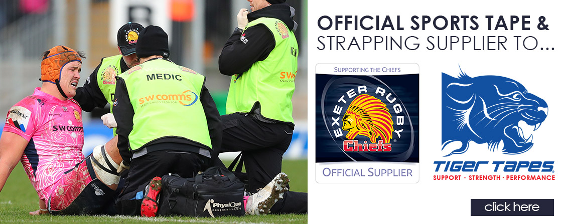 Official Supplier to Exeter Chiefs