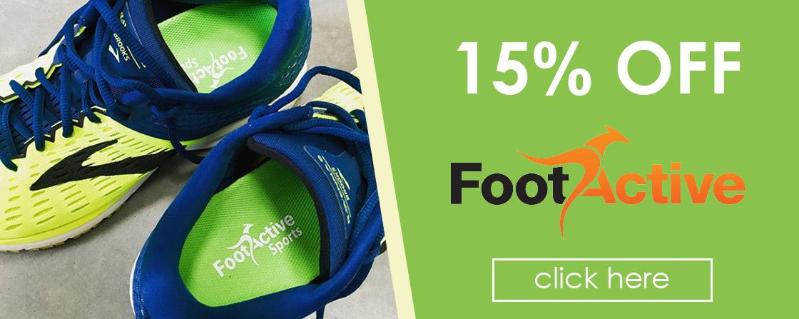 15% OFF Footactive
