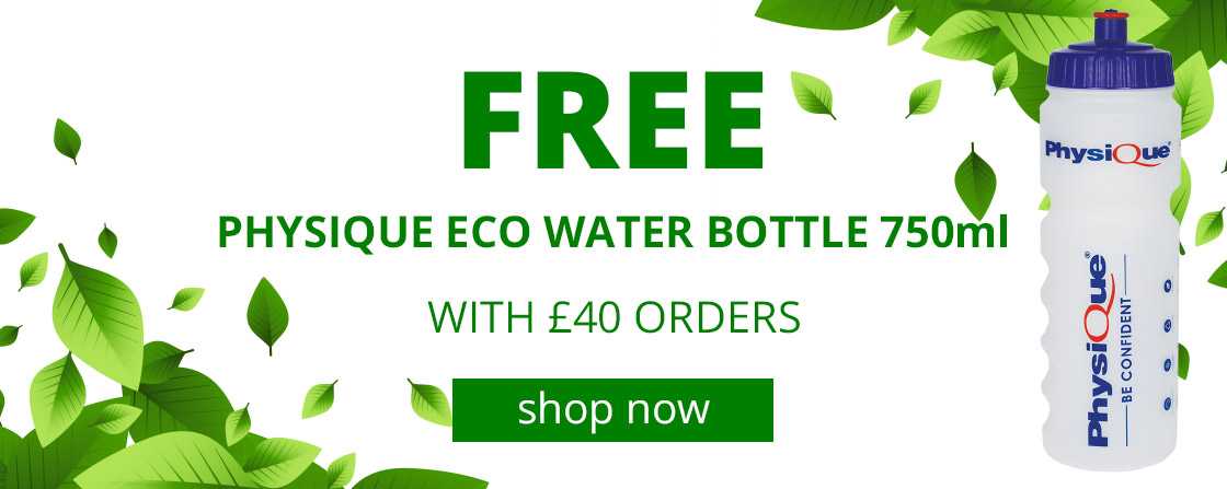 Free Physique Eco Water Bottle 750ml with £40 orders