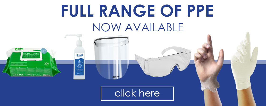 Full Range of PPE now Available