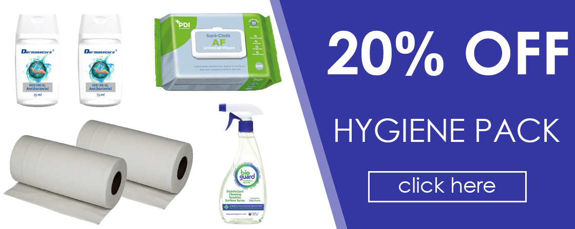 20% OFF Hygiene Pack