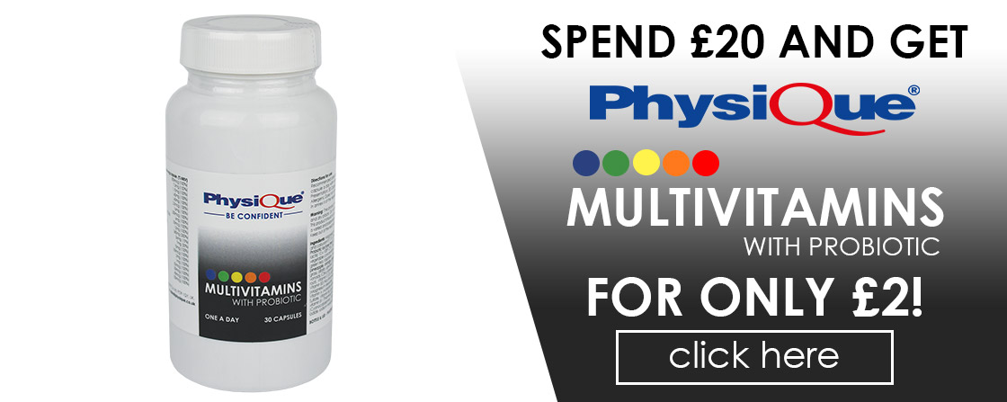 Physique Multivitamins for ONLY £2!
