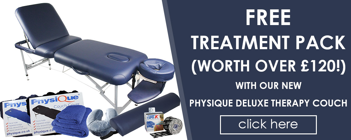 FREE £120 Treatment Pack with the Physique Deluxe Therapy Couch