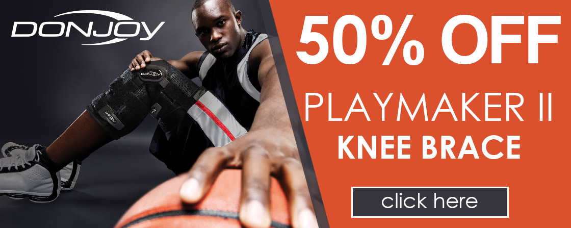 50% OFF Playmaker II Knee Brace