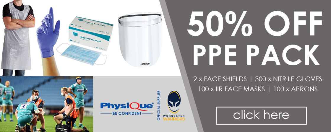 50% OFF Physique PPE Pack