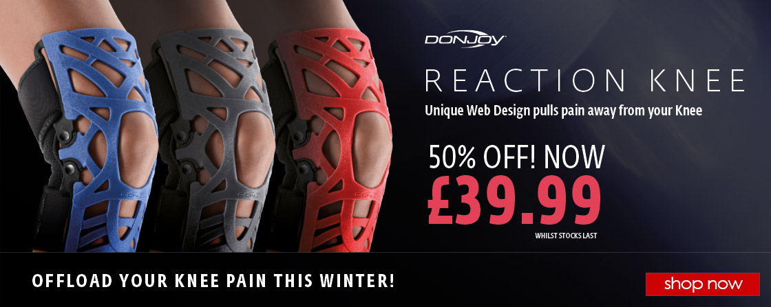 NEW Reaction Knee Support NOW 50% OFF