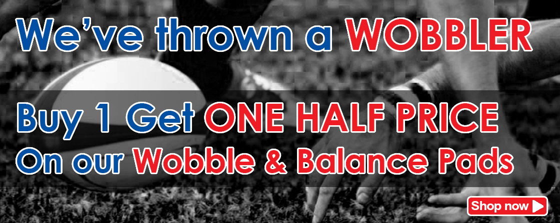Buy 1 Get ONE HALF PRICE on Wobble Pads