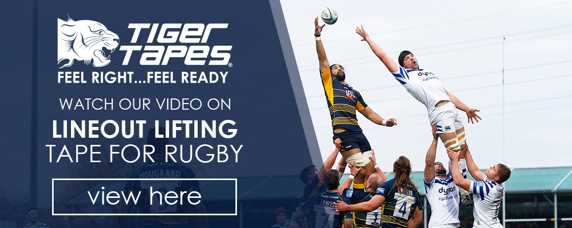 Video on Lineout Lifting Tape for Rugby