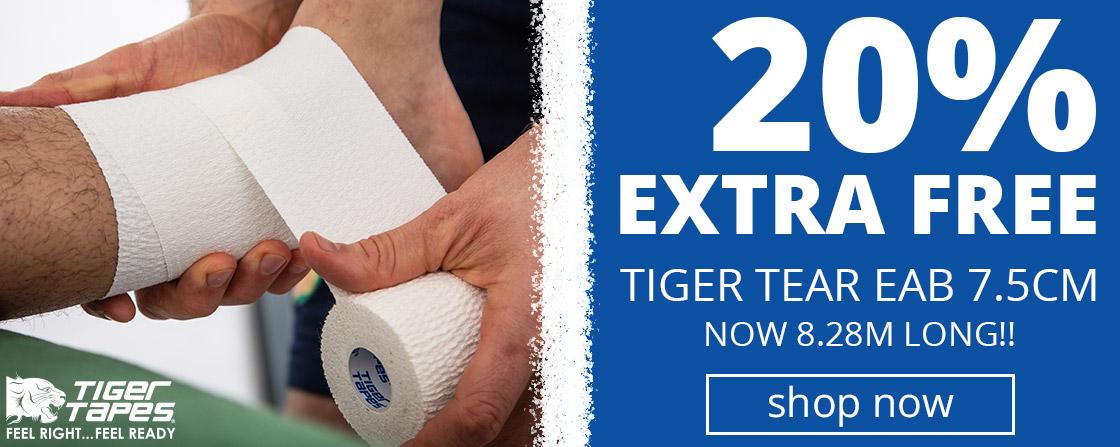 Tiger Tear 7.5cm | 20% EXTRA FREE
