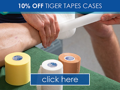 10% OFF Tiger Tapes