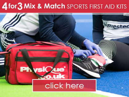 4 for 3 on Physique Sports First Aid Kits