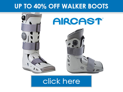 Up to 40% OFF Aircast Walker Boots