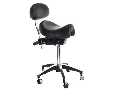 Optional Accessory: Back Support for Deluxe Saddle Chair