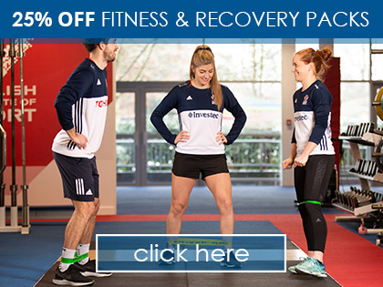 25% OFF Fitness & Recovery Packs