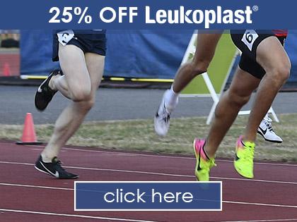 25% OFF LEUKOPLAST!