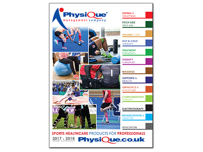 Sports Healthcare for Professionals Brochure 2017/18