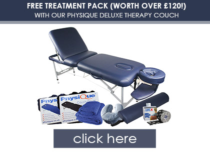 FREE £120 Treatment Pack with Deluxe Therapy Couch