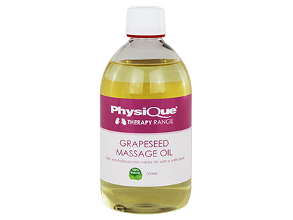 Physique Grapeseed Massage Oil 500ml