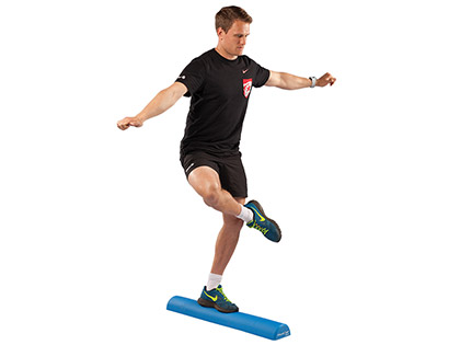 Balance Training with Foam Roller