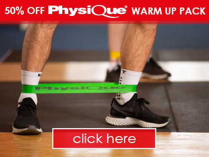 50% OFF Physique Warm Up Pack