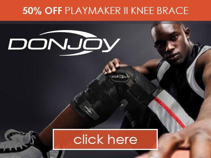 50% OFF Playmaker II Knee Brace
