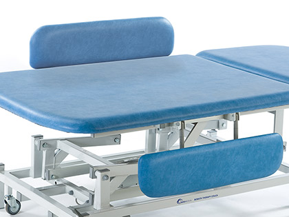 Optional Accessory: Side Support Cushions with Rails