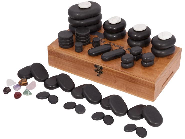 60 Piece Hot Stone Set