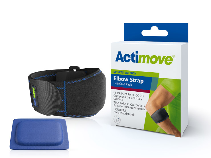 Actimove® Sports Edition Elbow Strap with Hot/Cold Pack