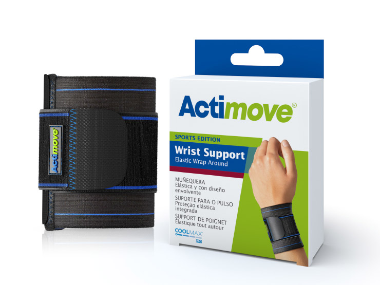 Actimove® Sports Edition Elastic Wrap Around Wrist Support