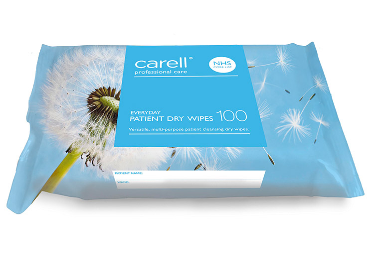 Carell Patient Dry Wipes