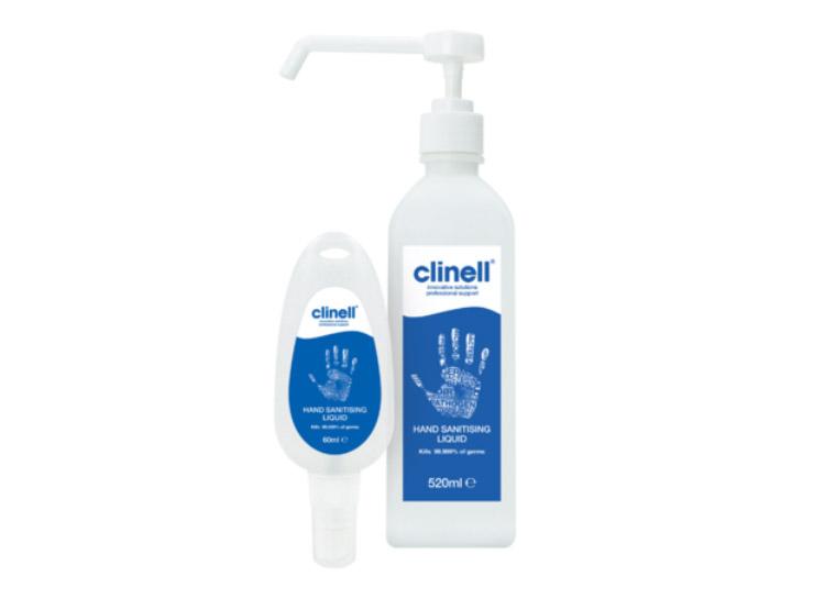 Clinell Hand Sanitising Liquid