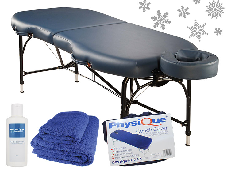 Physique Contour Massage Table with Trimmings