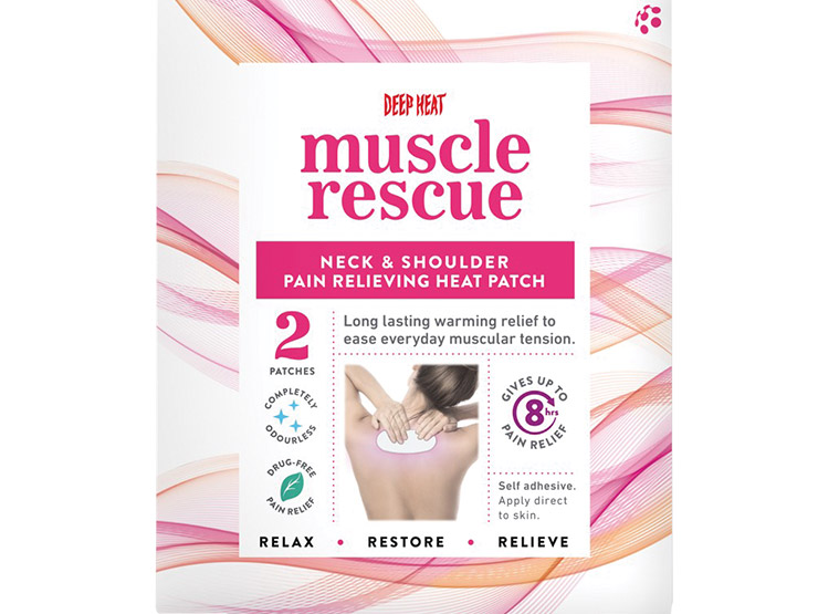 Deep Heat Muscle Rescue Neck & Shoulder Heat Patch