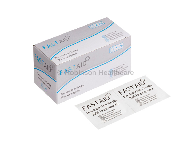 Fast Aid Pre-Injection Swabs