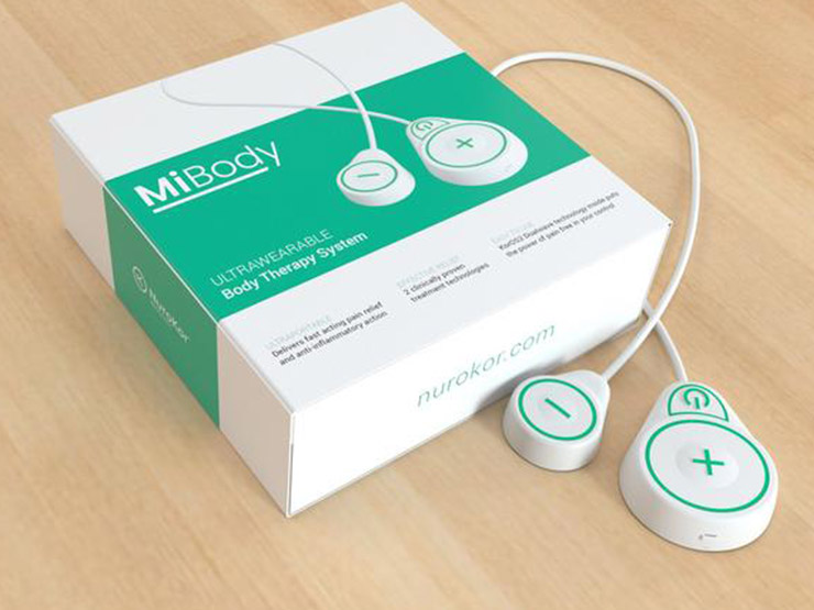 NuroKor MiBody Ultrawearable Therapy Device