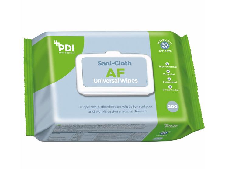 PDI Sani-Cloth AF Universal Sanitising Wipes