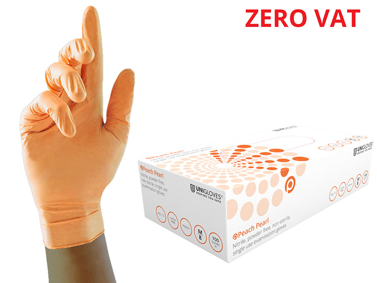 Unigloves Pearl Nitrile Examination Gloves
