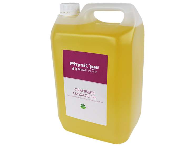 Physique Grapeseed Massage Oil 5 Litre