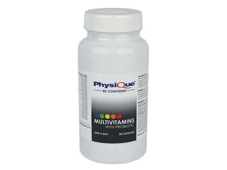 Physique Multivitamins with Probiotic 30 Capsules