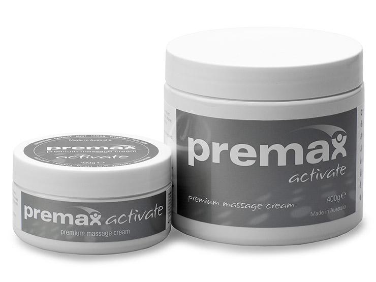Premax Activate Massage Cream