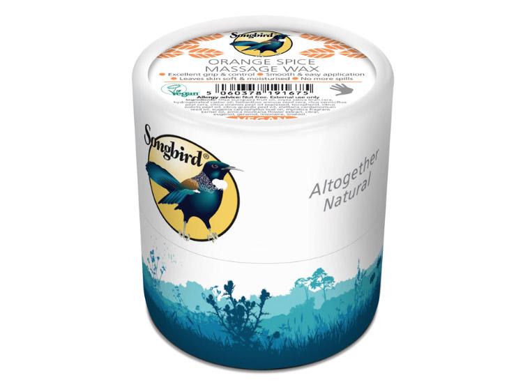 Songbird Vegan Orange Spice Massage Wax