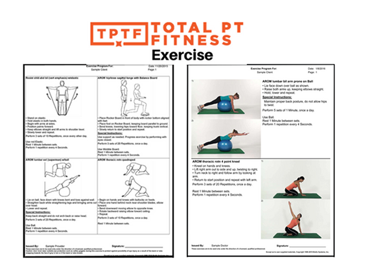 Total PT Fitness Exercise