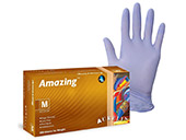 Aurelia® Amazing® Purple Blue Examination Nitrile Examination Gloves